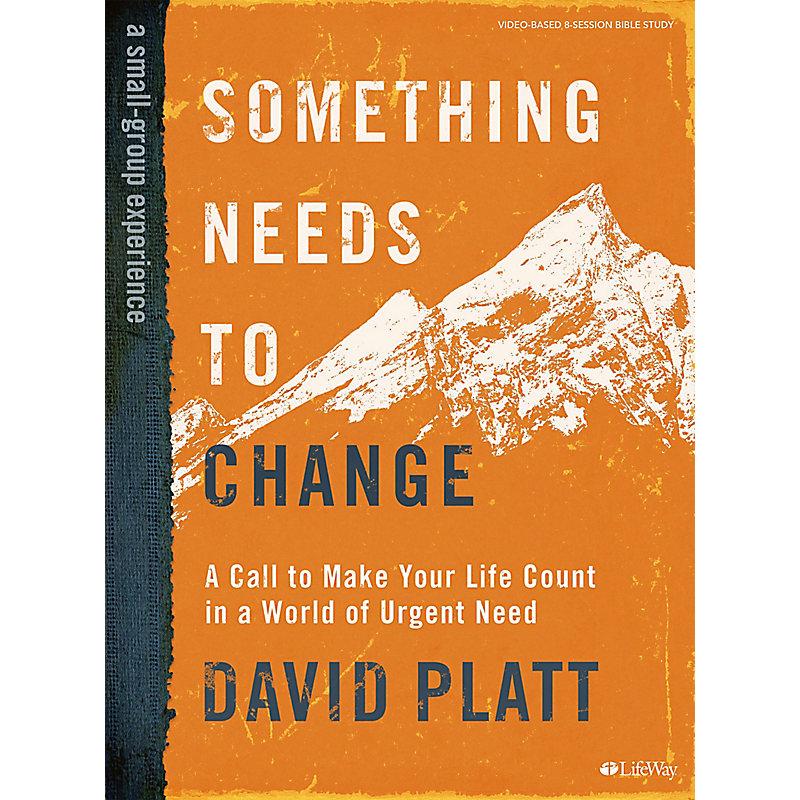 Something Needs to Change - Bible Study eBook - Enhanced