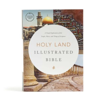 CSB Holy Land Illustrated Bible (Hardcover)