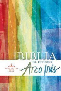 Biblia de Estudio Arco Iris, RVR 1960, Tapa Dura