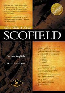 Biblia de Estudio Scofield RVR 1960, Tapa Dura con Indice