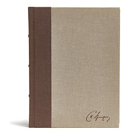 CSB Spurgeon Study Bible Brown/Tan Cloth