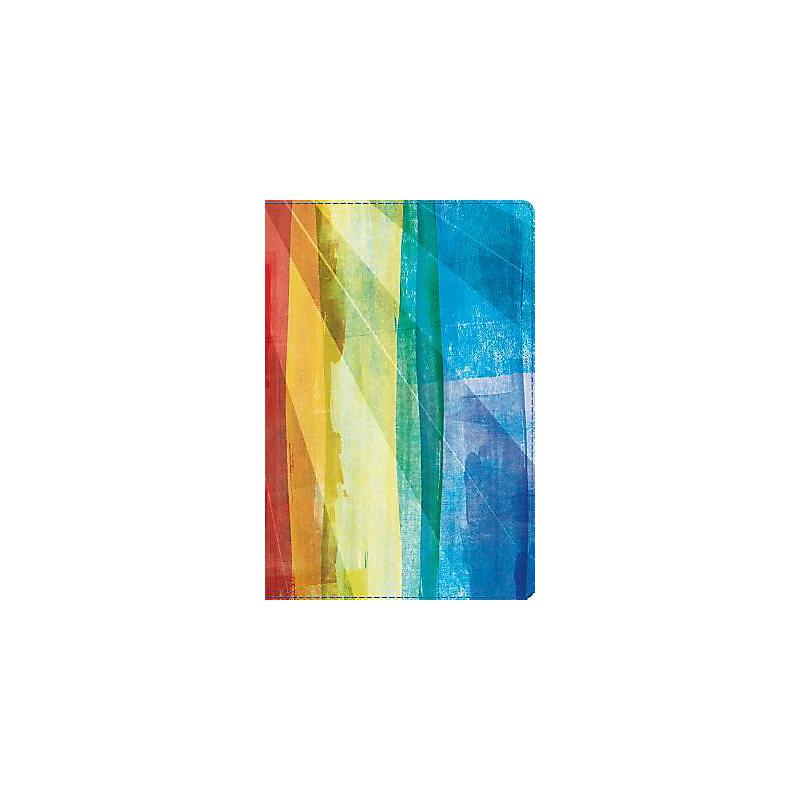 RVR 1960 Biblia de Estudio Arco Iris, multicolor símil piel