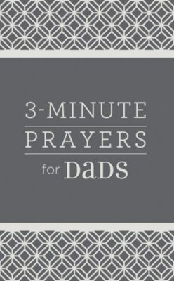 Christian gifts for him lifeway 3 minute prayers for dads negle Images