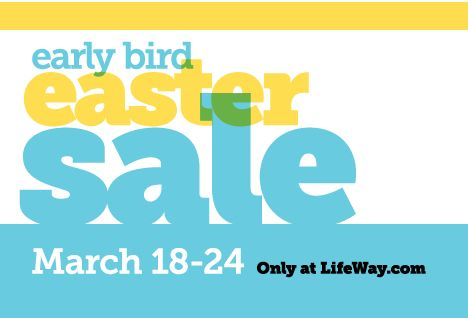 Early Bird Easter Sale