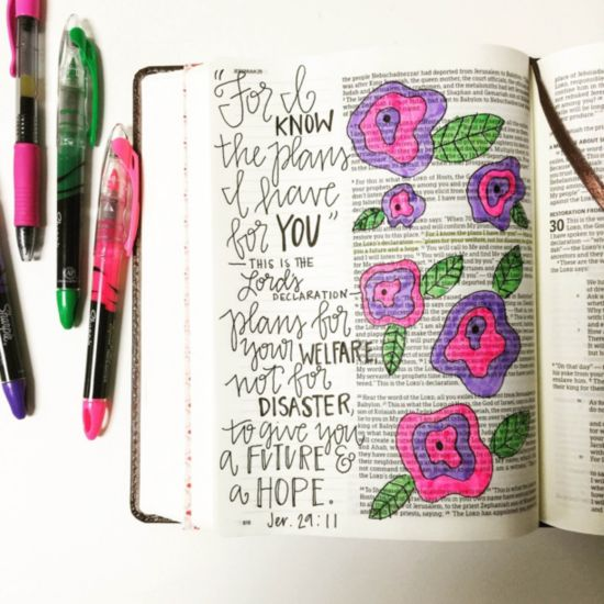 journaling bible, bible journal