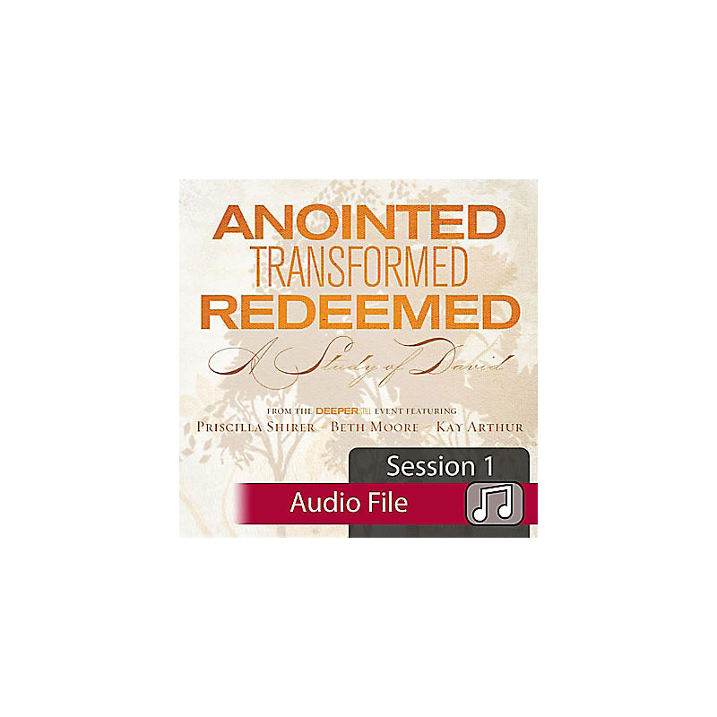 Anointed, Transformed, Redeemed: A Study of David - Audio Sessions