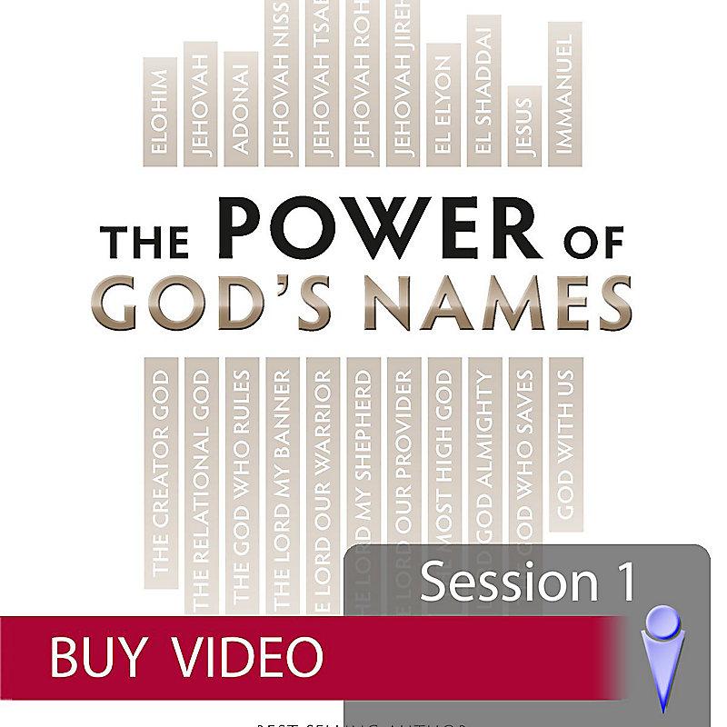 The Power of God's Names - Buy