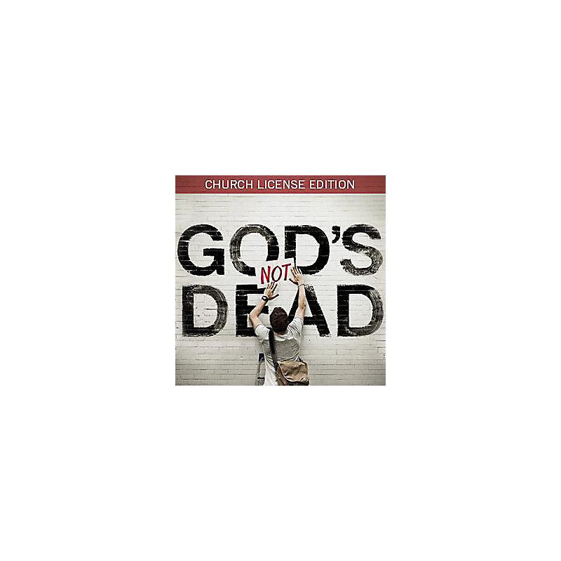 God's Not Dead Church License Edition Digital Download