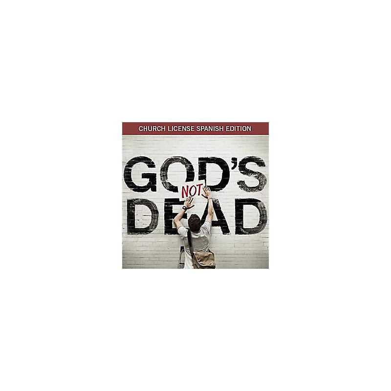 (Spanish) God's Not Dead Church License Edition Digital Download