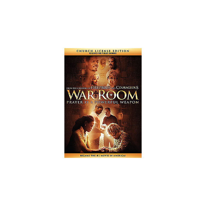 War Room - Church License DVD Edition