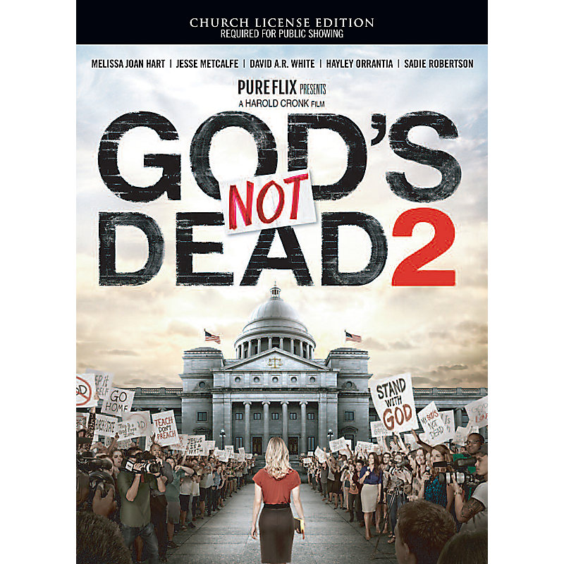 God's Not Dead 2 Church License DVD Edition