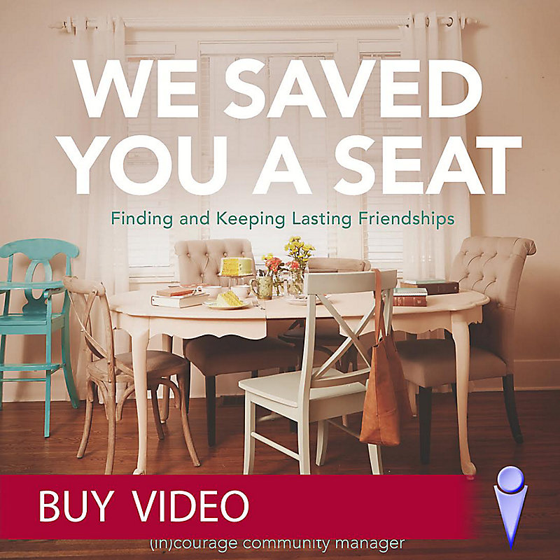 We Saved You a Seat - Buy