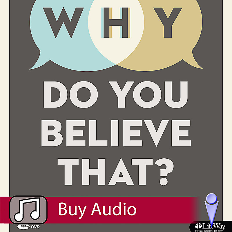 Why Do You Believe That? - Audio Sessions
