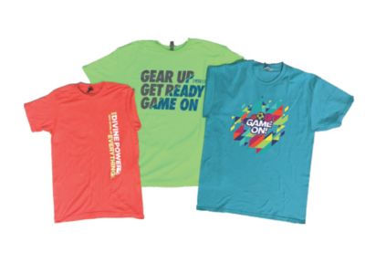 VBS 2018 Game On! T-Shirts Power Pack