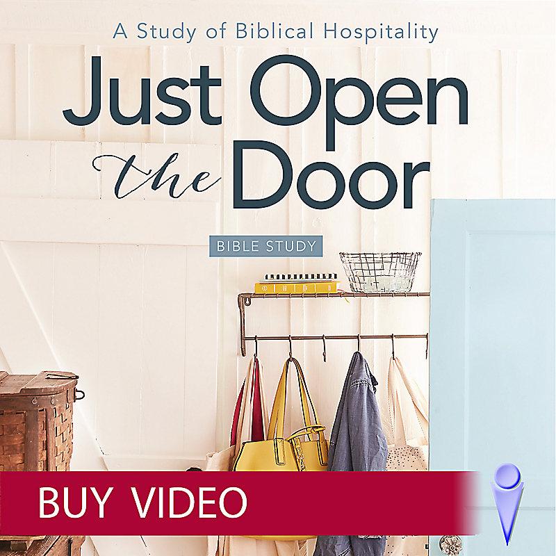 Just Open the Door - Video Sessions - Buy