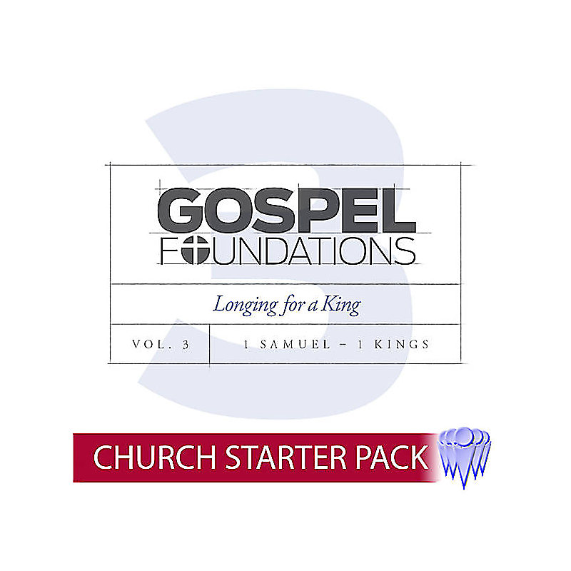Gospel Foundations - Adult Church Starter Pack Volume 3