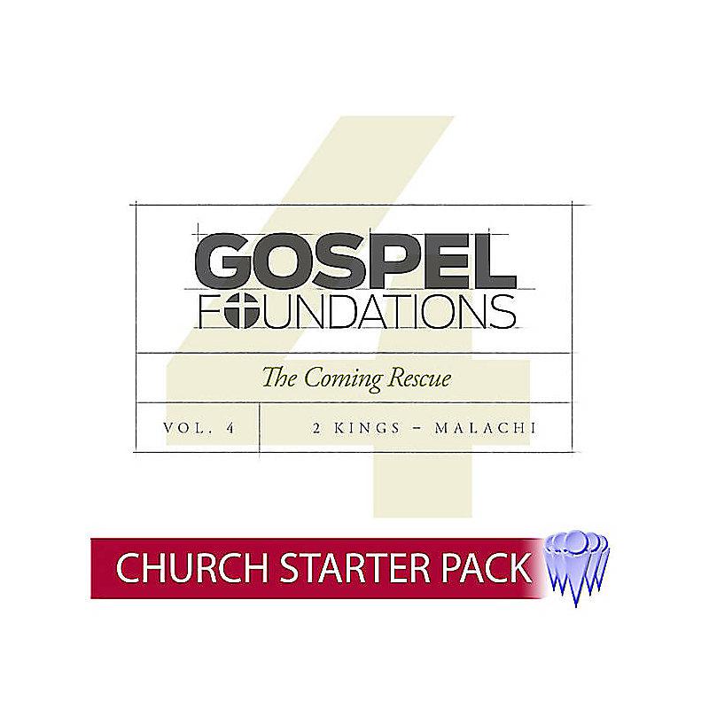 Gospel Foundations - Adult Church Starter Pack Volume 4