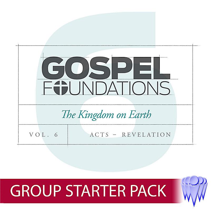 Gospel Foundations - Adult Church Starter Pack Volume 6