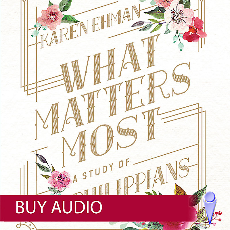 What Matters Most - Audio Sessions