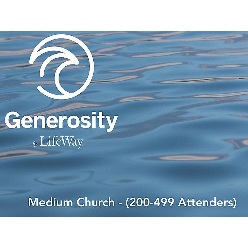 Generosity by LifeWay - Medium Church (200-499 Attenders)