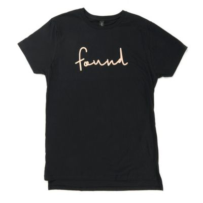 fecb799c9d0 Found - Long T-Shirt - Black