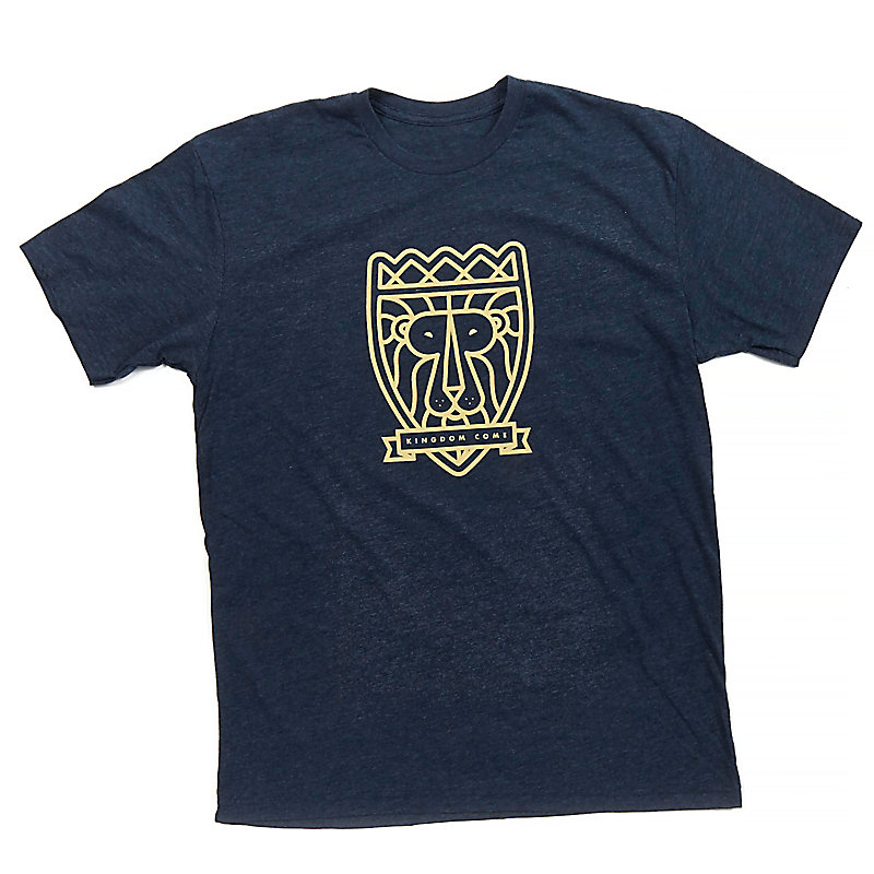 """Kingdom Come"" T-shirt, Midnight Navy"