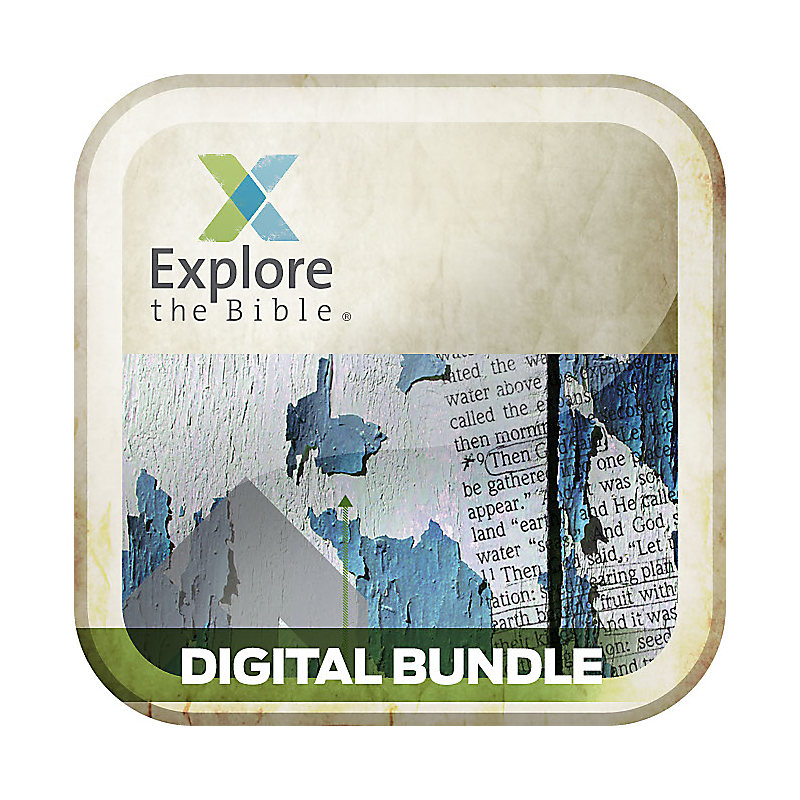 Explore the Bible: Student Personal Study Guide/Leader Digital Bundle - Fall 2015