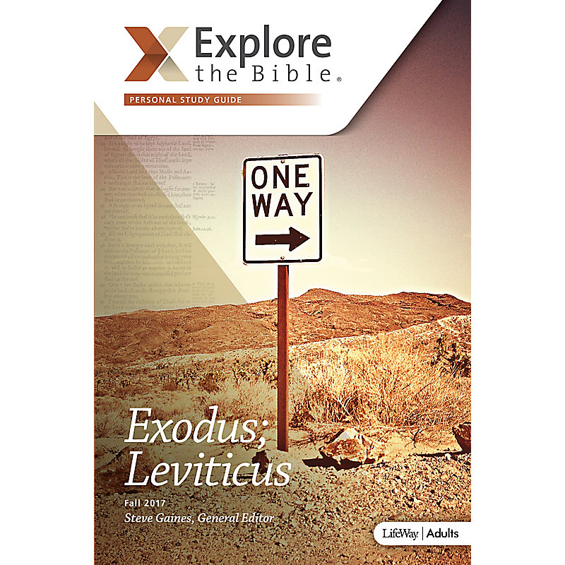Explore the Bible: Adult Personal Study Guide - Fall 2017