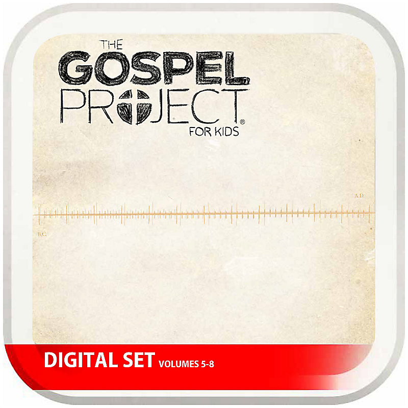 The Gospel Project for Kids: Kids Digital Set - Volumes 5-8