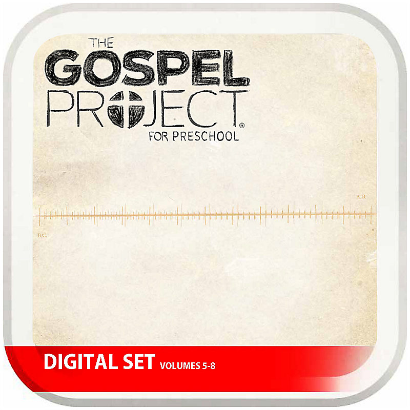 The Gospel Project for Preschool: Preschool Digital Set - Volumes 5-8