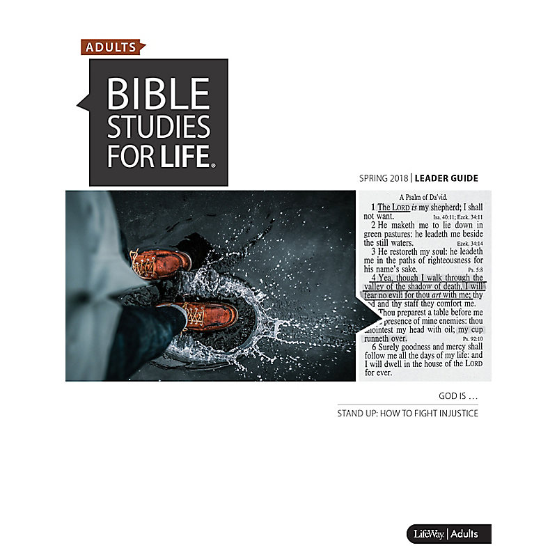 Bible Studies for Life: Adult Leader Guide - Spring 2018