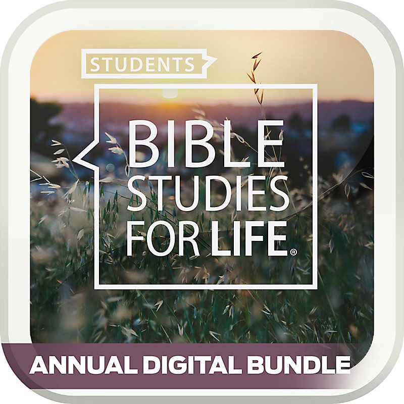 Bible Studies for Life: Students Annual Digital Bundle (Spring 2018-Winter 2019)