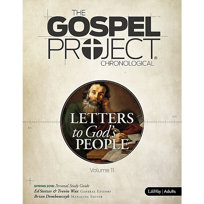 The Gospel Project for Adults: Personal Study Guide - Spring 2018
