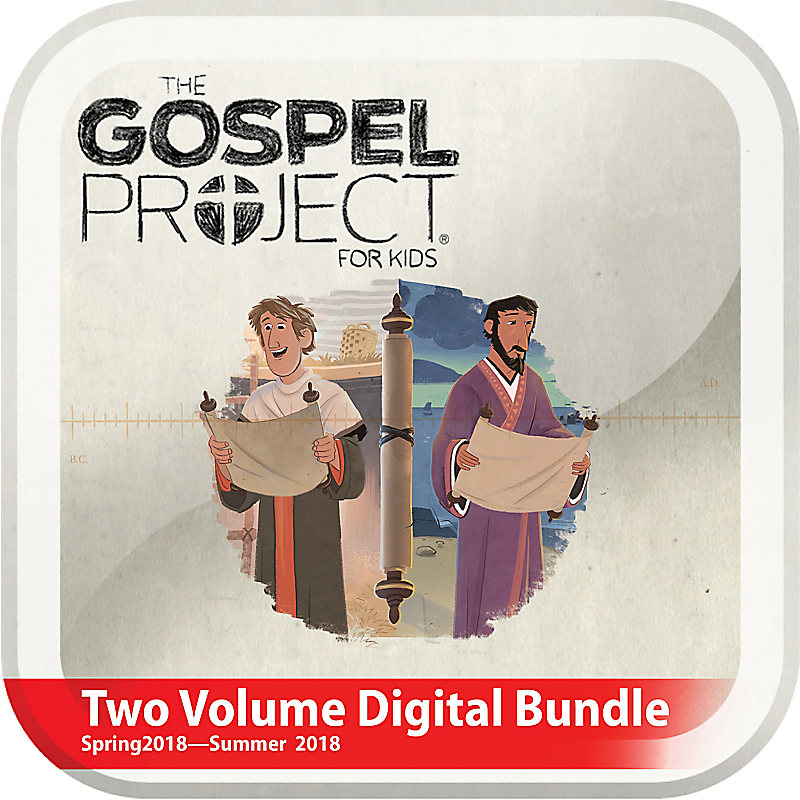 The Gospel Project for Kids: Kids Two Volume Digital Bundle (Spring 2018-Summer 2018)