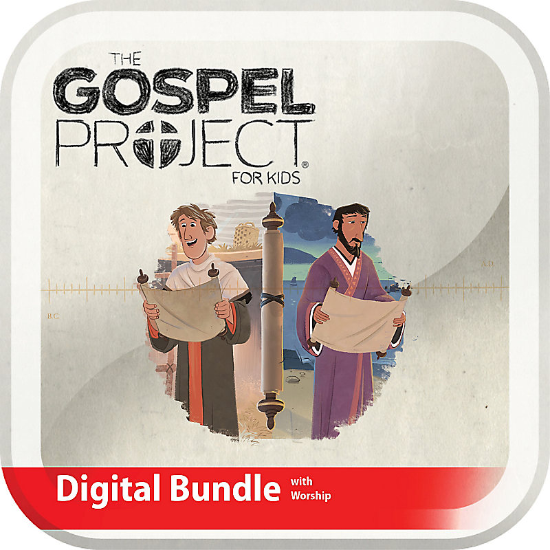 The Gospel Project for Kids: Kids Digital Bundle with Worship Hour Add-On - Volume 11: Letters to God's People