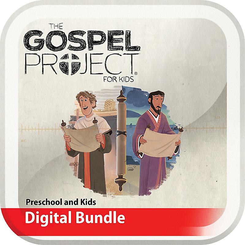 The Gospel Project for Kids: Preschool and Kids Digital Bundle - Volume 11: Letters to God's People