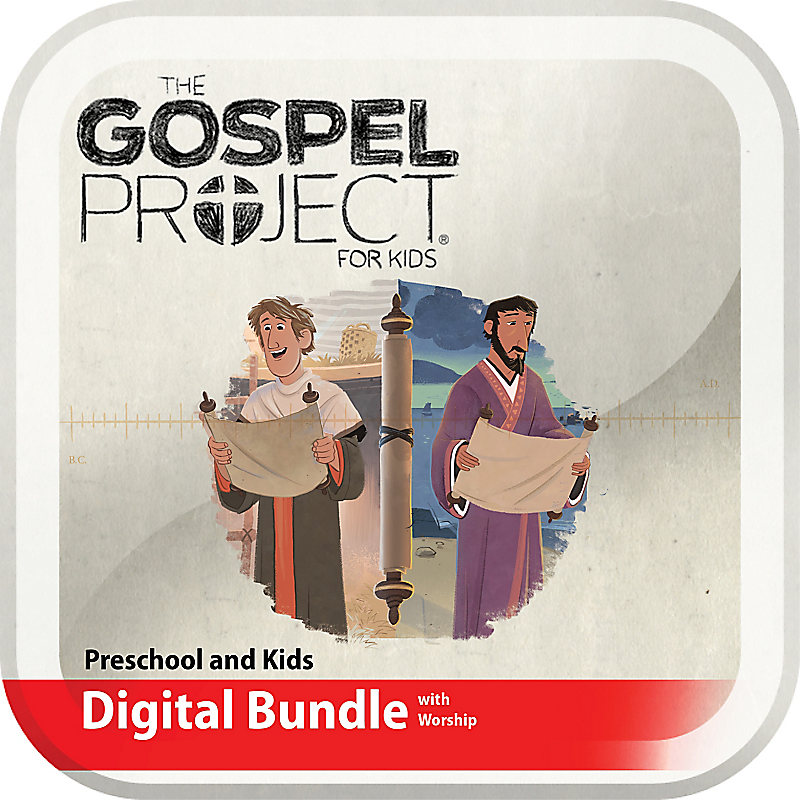 The Gospel Project for Kids: Preschool and Kids Digital Bundle with Worship Hour Add-On - Volume 11: Letters to God's People