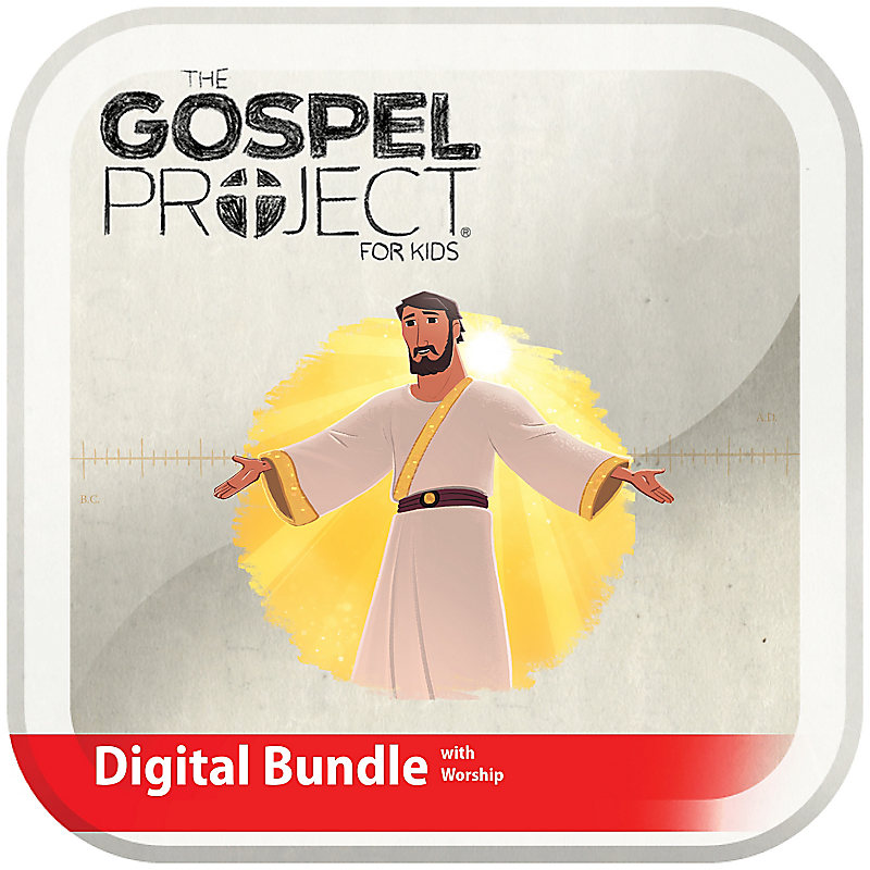 The Gospel Project for Kids: Kids Digital Bundle Worship Hour Add-On - Volume 12: Come Lord Jesus
