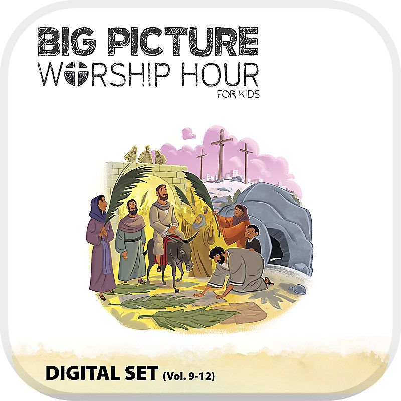 The Gospel Project for Kids: Kids with Worship Hour Add-On Digital Set - Volumes 9-12