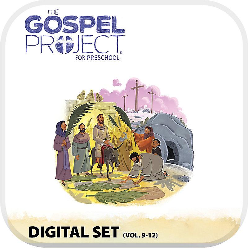 The Gospel Project for Preschool: Preschool with Worship Hour Add-On Digital Set - Volumes 9-12
