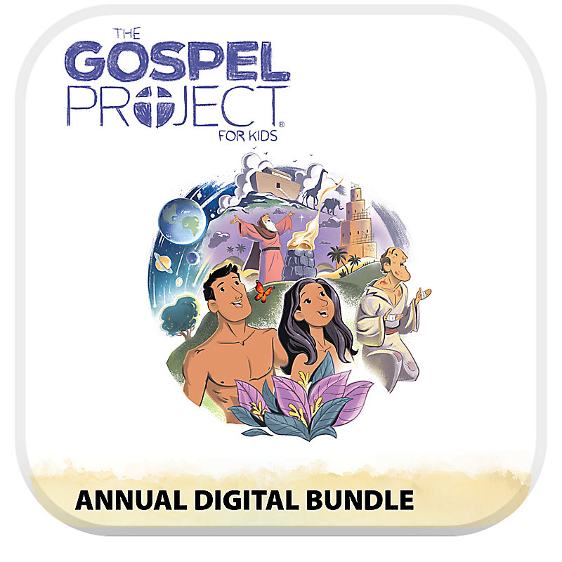 The Gospel Project for Kids Digital Bundle Volume 1 in the Beginning