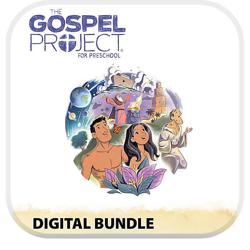 The Gospel Project for Preschool Digital Bundle Volume 1 in the Beginning