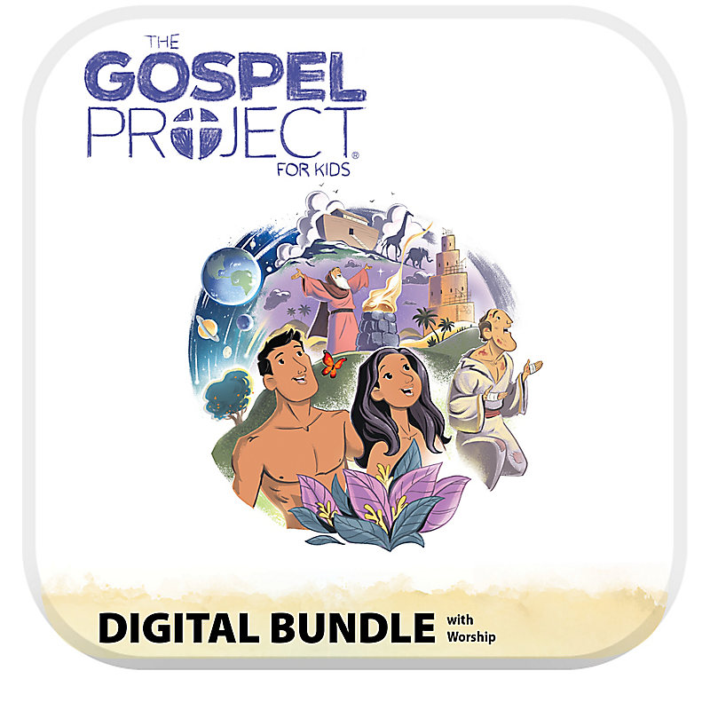The Gospel Project for Kids: Kids Digital Bundle with Worship Hour - Volume 1: In the Beginning