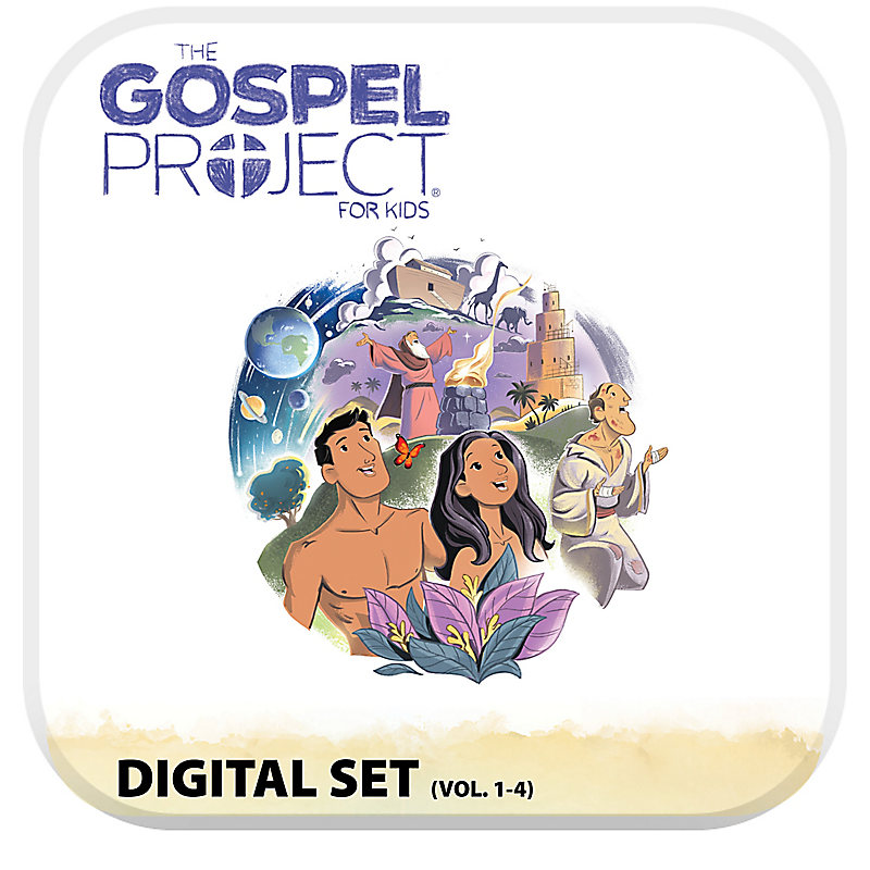 The Gospel Project for Kids: Kids Digital Set - Volumes 1-4