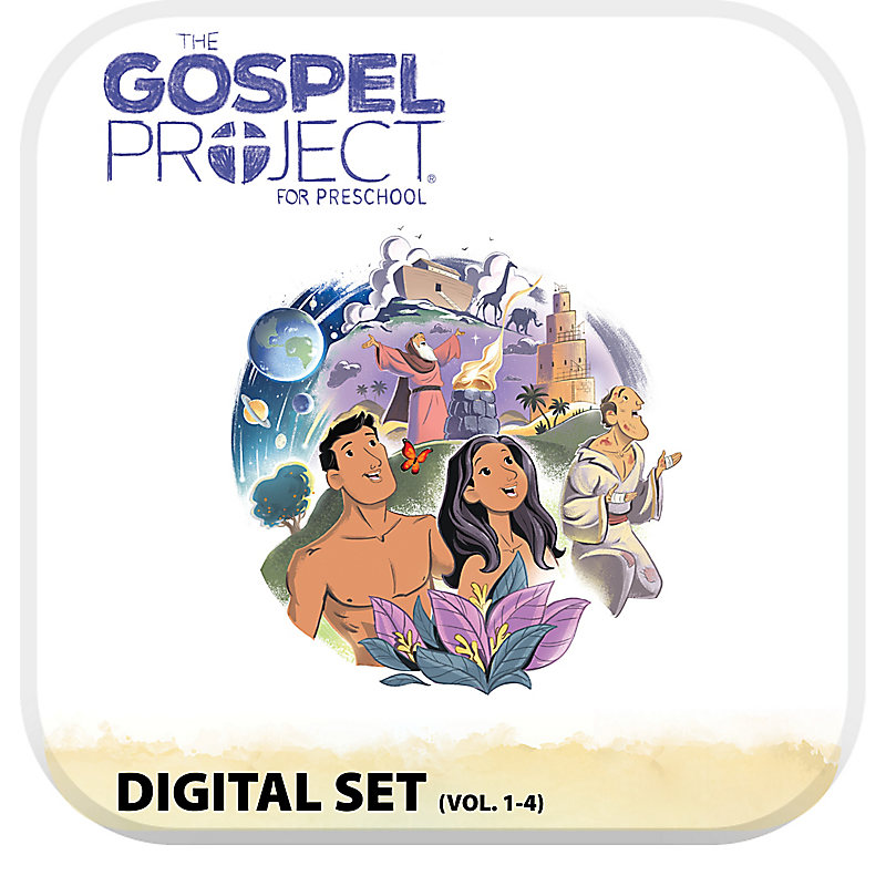 The Gospel Project for Preschool: Preschool Digital Set - Volumes 1-4