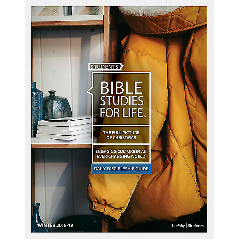 Bible Studies for Life: Students Daily Discipleship Guide - Winter 2019