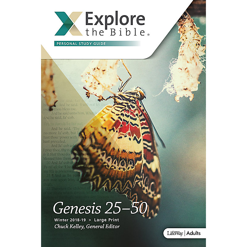 Explore the Bible: Adult Personal Study Guide Large Print - Winter 2019