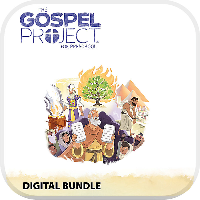 The Gospel Project for Preschool Digital Bundle Volume 2: Out of Egypt