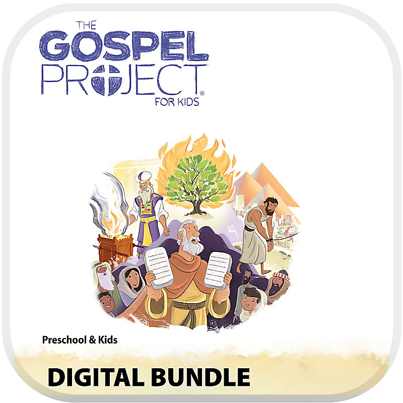 The Gospel Project for Preschool and Kids Digital Bundle Volume 2: Out of Egypt