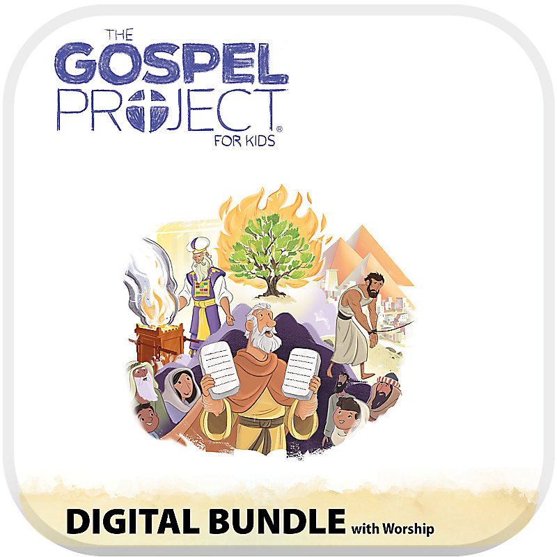 The Gospel Project for Kids: Kids Digital Bundle with Worship Hour - Volume 2: Out of Egypt